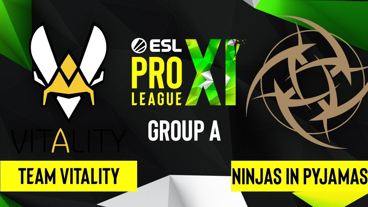Team Vitality vs. Ninjas in pyjamas