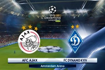 Champions League Ajax vs Dinamo Kiev