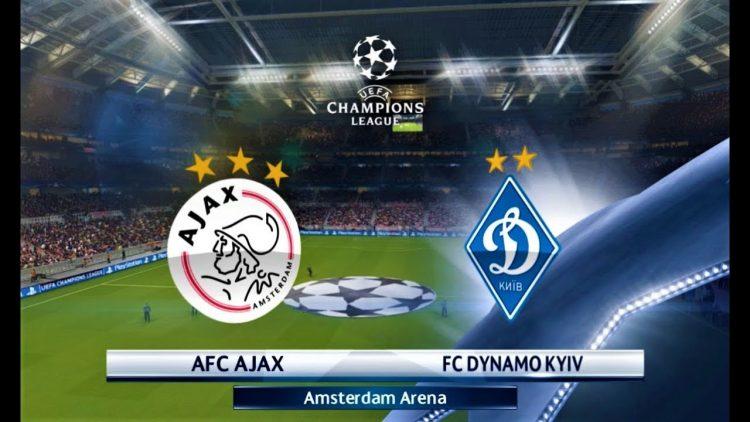Champions League Ajax vs Dinamo Kiev