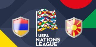 UEFA Nations League Armenia vs Macedonia