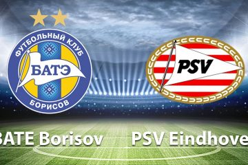 Champions League BATE vs PSV