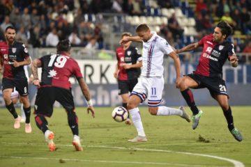 Cagliari vs Sampdoria Soccer Betting Tips