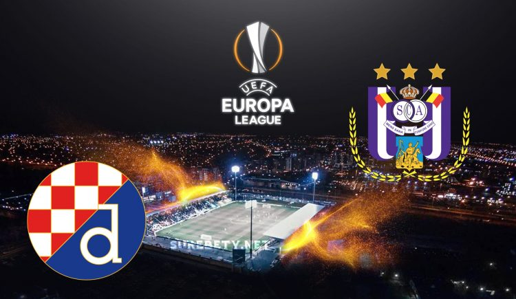 Dinamo Zagreb vs Anderlecht Europa League
