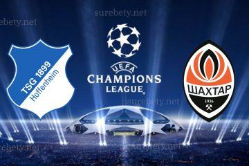 Hoffenheim vs Shakhtar Donetsk Champions League