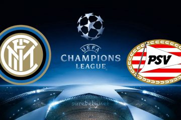 Inter vs PSV Champions League