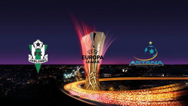 UEFA Europa League Jablonec vs Astana