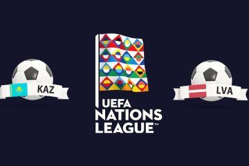 UEFA Nations League Kazakhstan vs Latvia