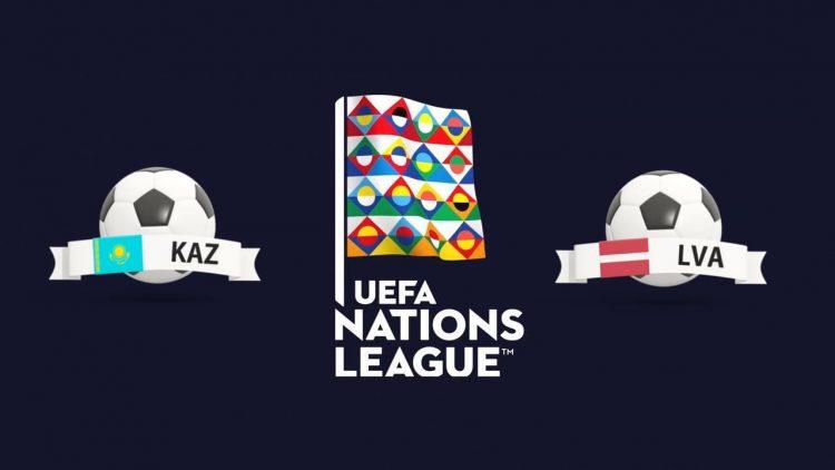 UEFA Nations League Kazakhstan vs Latvia