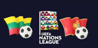 UEFA Nations League Lithuania vs Montenegro