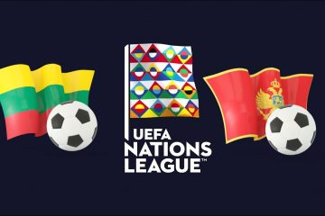 UEFA Nations League Lithuania vs Montenegro