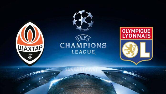 Sahtior vs Lyon Champions League