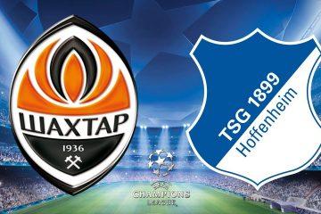 Champions League Shakhtar Donetsk vs Hoffenheim