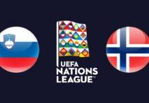 UEFA Nations League Slovenia vs Norway