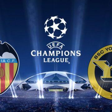 Valencia CF vs Young Boys Champions League